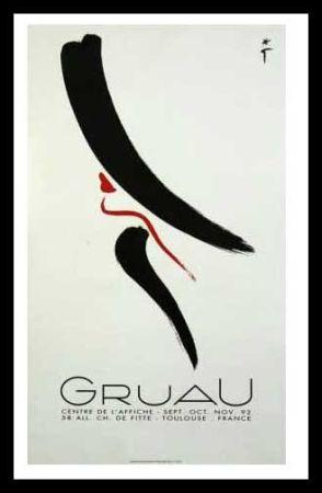Poster Gruau - L'ELEGANTE