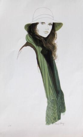 Lithograph Charoy - L'elegante