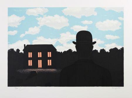 Lithograph Magritte - L'Empire des Lumières