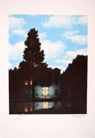 Lithograph Magritte - L'Empire des Lumières - The Empire of Light