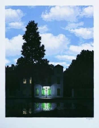 Lithograph Magritte - L'empire des lumières, 1954