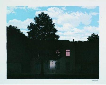 Lithograph Magritte - L'Empire des Lumières, 1961