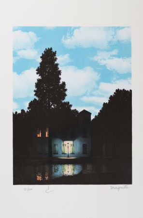 Lithograph Magritte - L'Empire des Lumières (The Empire of Light)
