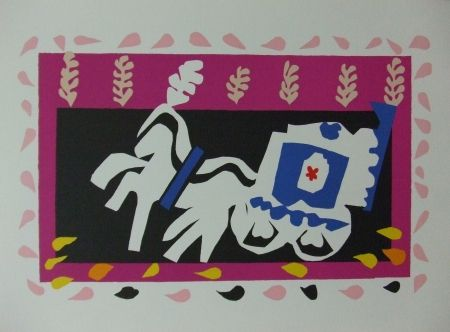 Lithograph Matisse - L'enterrement de Pierrot