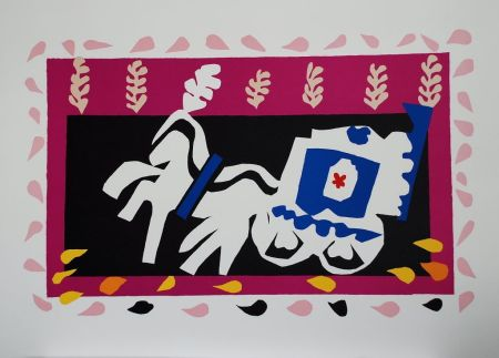 Collograph Matisse - L'Enterrement de Pierrot (Pierrot's Funeral)