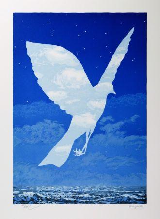 Lithograph Magritte - L'Entrée en scène