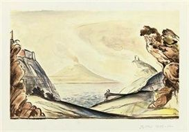 Lithograph Balthus - Les 22 concertos pour piano de Mozart