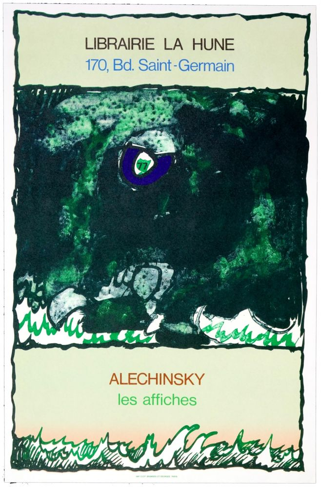 Poster Alechinsky - Les Affiches, 1977