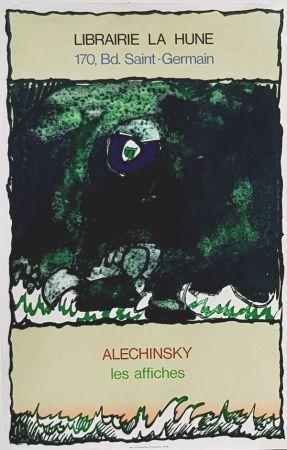 Lithograph Alechinsky - Les Affiches  Librairie  à La Hune
