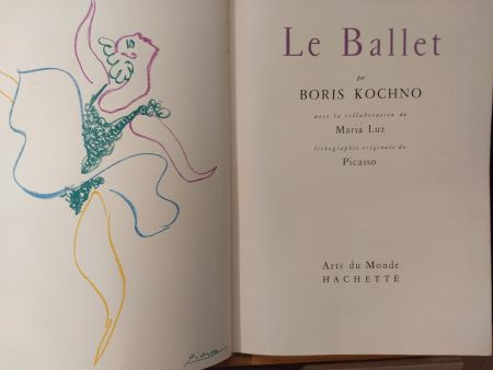 Illustrated Book Picasso - Les Ballet