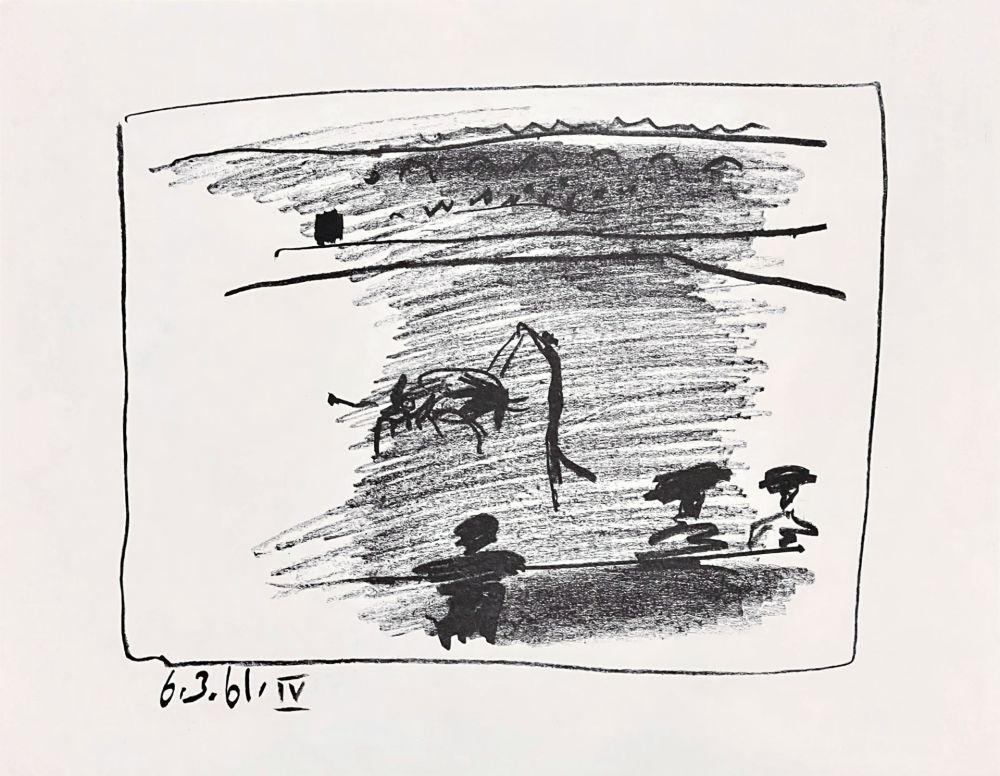 Lithograph Picasso - Les Banderillas