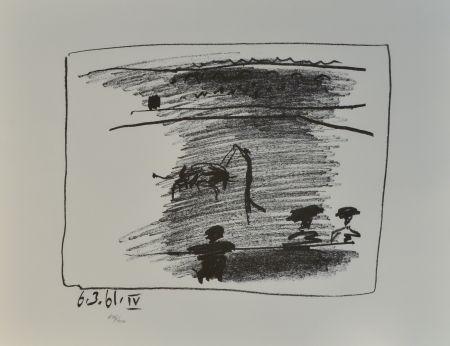 Lithograph Picasso - Les Banderilles