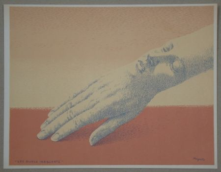 Lithograph Magritte - Les bijoux indiscrets