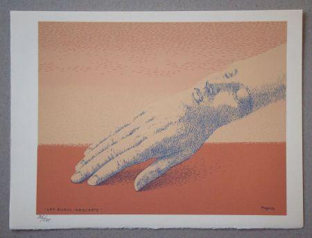 Lithograph Magritte - Les bijoux indiscrets, 1963
