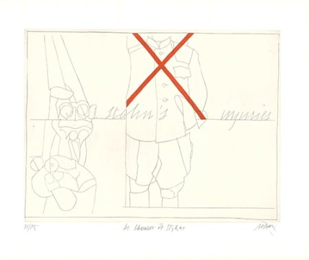 Etching Adami - Les blessures de Staline / Stalin's Injuries