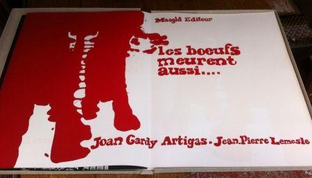 Illustrated Book Artigas - Les boeufs meurent aussi