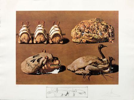 Lithograph Dali - LES CAPRICES PINCES PRINCIERS