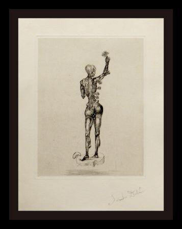 Etching Dali - Les Chants de Maldoror (Figure)
