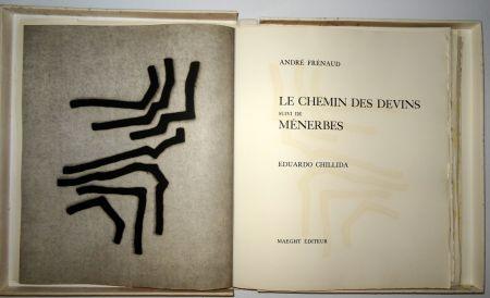Illustrated Book Chillida - Les Chemin Des Devins / Menerbés