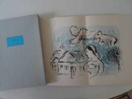 Lithograph Chagall - Les Chemins d'Amitie