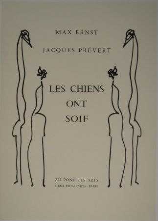 Illustrated Book Ernst - Les chiens ont soif.
