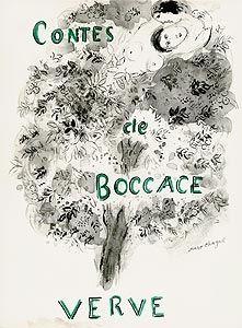 Illustrated Book Chagall - Les Contes de Boccace