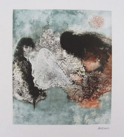 Etching Bellmer - Les Deux Amies