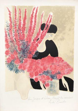 Lithograph Brasilier - Les Deux Bouquets