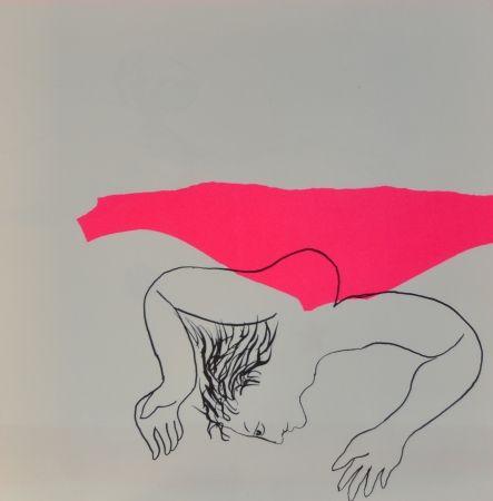 Lithograph Baj - Les Drogués