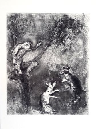 Engraving Chagall - Les fables de La Fontaine