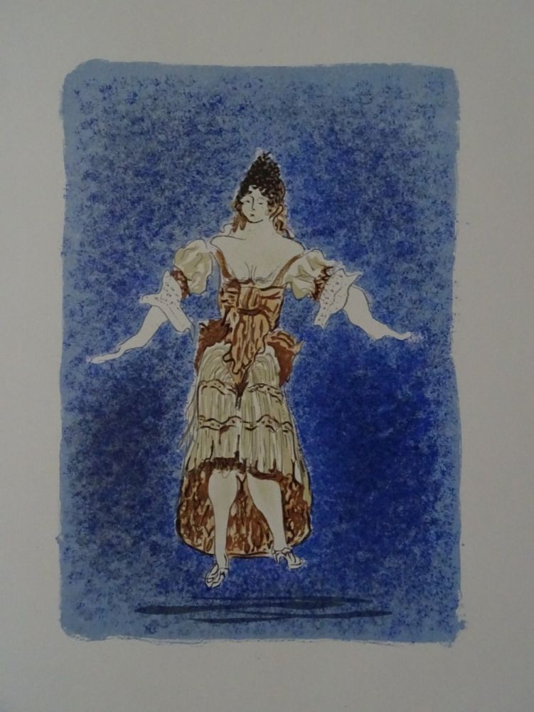Lithograph Braque - Les Facheux