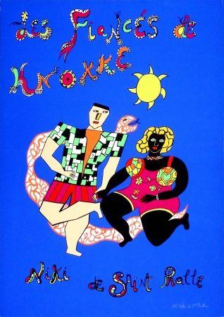 Screenprint De Saint Phalle - Les Fiancés De Knokke