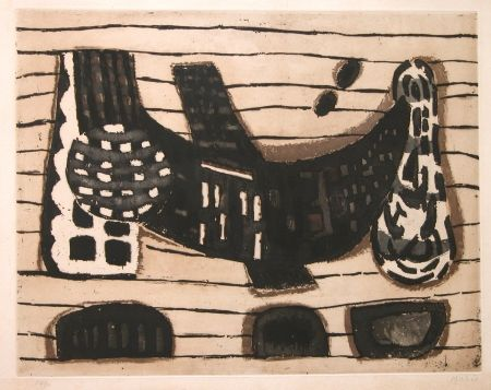 Etching And Aquatint Music - Les Filets