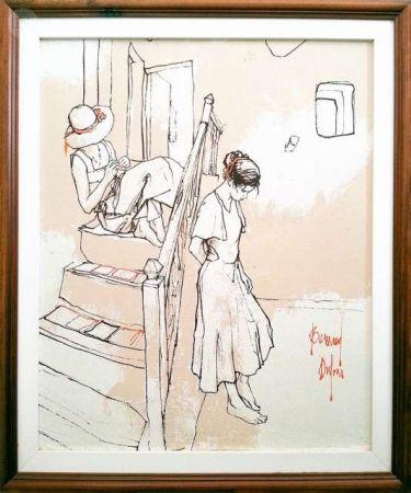 No Technical Dufour  - Les filles sur les escaliers