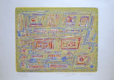 Woodcut Rhee - Les Formes