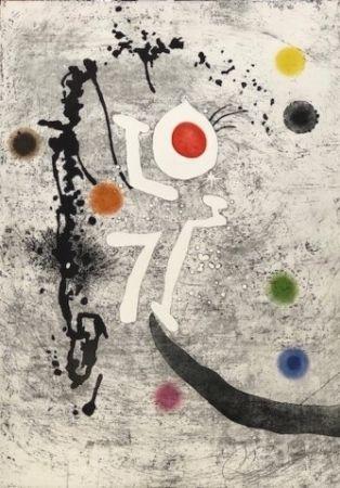 Etching And Aquatint Miró - Les Formigues