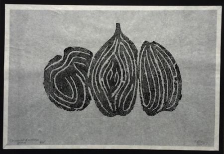 Engraving Ubac - Les Fruits I