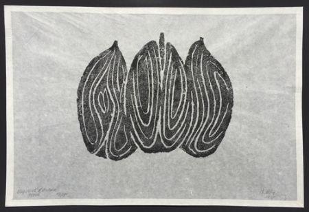 Engraving Ubac - Les Fruits II