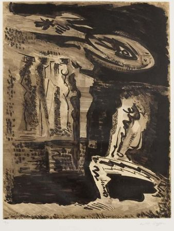 Etching And Aquatint Masson - Les gardiennes du Silence I