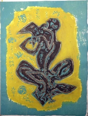 Illustrated Book Masson - LES HAIN-TENY. 16 eaux-fortes et reliefs en couleurs.