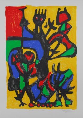 Lithograph Ionesco - Les hauts danseurs