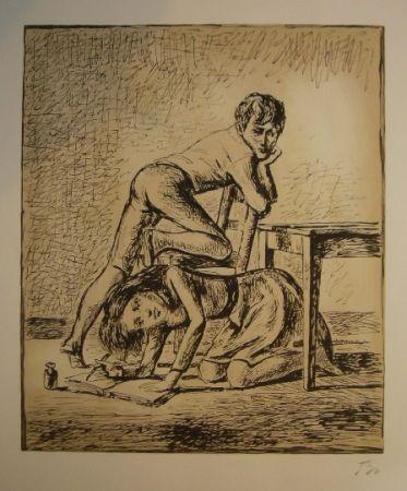 Lithograph Balthus - Les hauts de hurlevent
