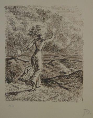 Lithograph Balthus - Les hauts de hurlevent 2