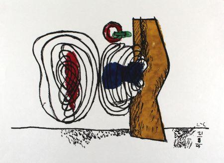 Lithograph Le Corbusier - Les Huits