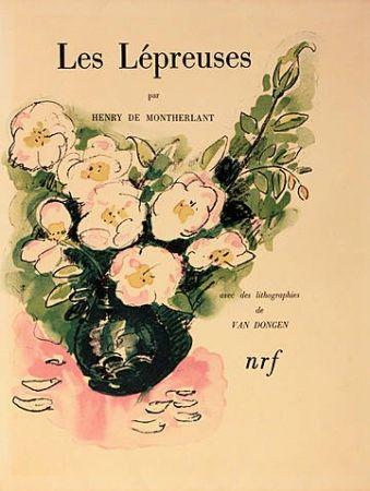 Illustrated Book Van Dongen - Les lépreuses