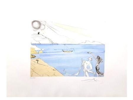 Lithograph Dali - Les Lauriers du Bonheur
