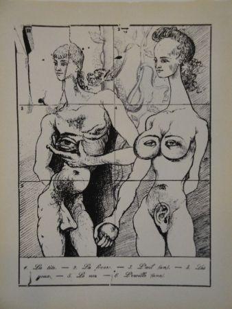 Illustrated Book Dali - Les métamorphoses érotiques.