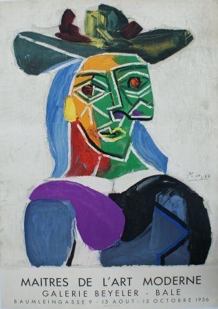 Lithograph Picasso - Les Maîtres de l'Art Moderne