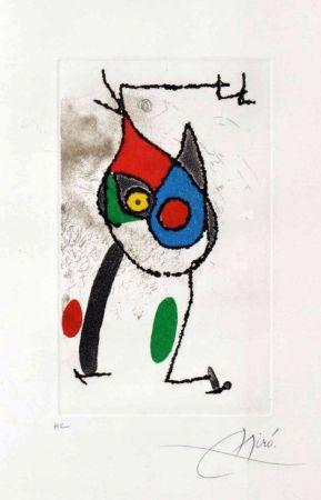 Etching Miró - Les Magies