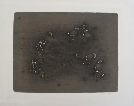 Lithograph Bellmer - Les Mains Articulées